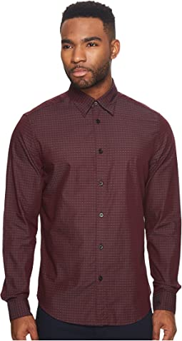 Ben Sherman - Long Sleeve Dobby Checkerboard Shirt