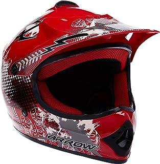 <h2>ARMOR Helmets AKC-49 Kinder-Cross-Helm, Schnellverschluss Tasche, M 55-56cm, Rot</h2>