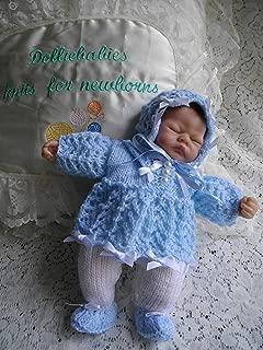 DollieBabies Knitting Pattern 27 - Ashton Drake Emmy Dress Set 10