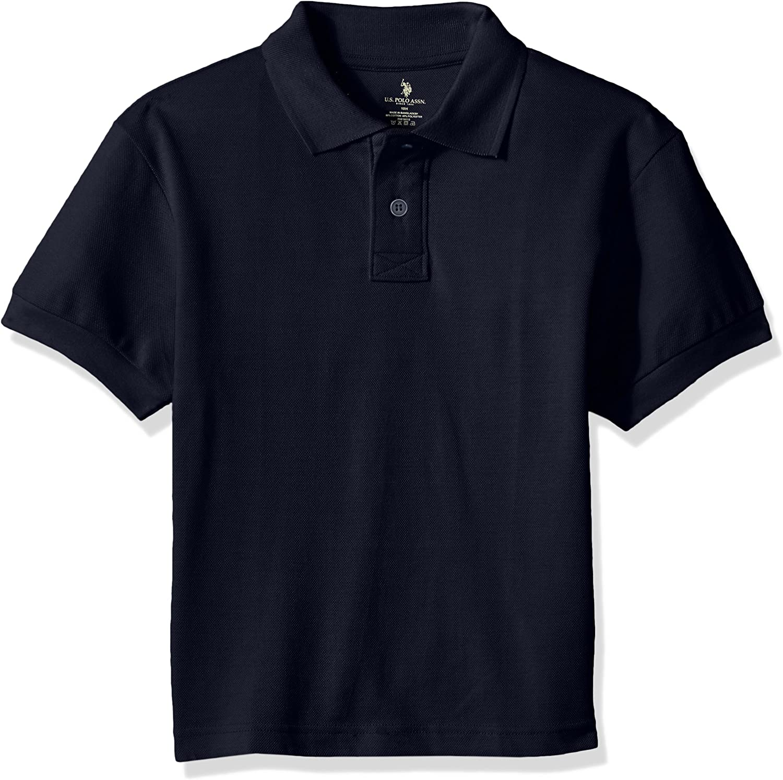 U.S. Polo Assn. Boys' Husky Polo Shirt (More Styles Available)