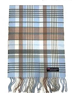 burberry blue cashmere scarf