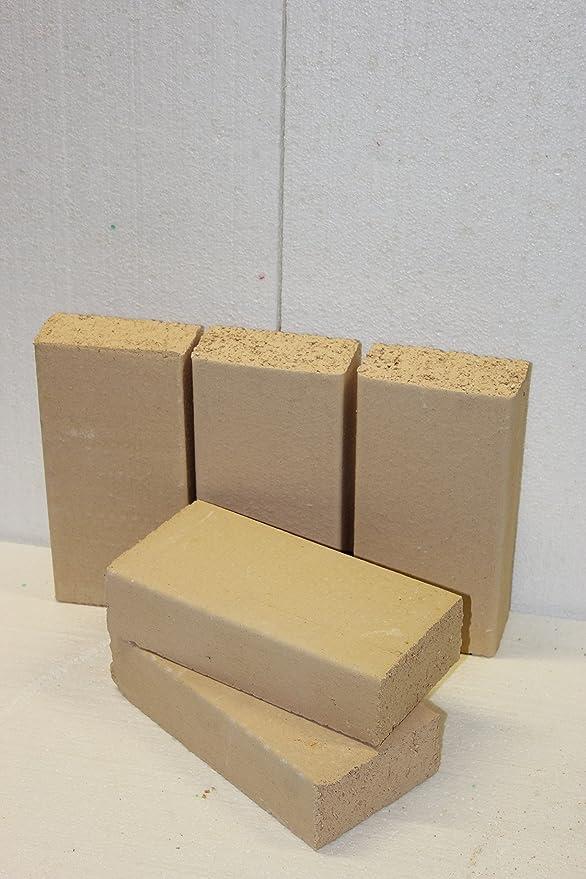 400 x 200 x 20 mm qualit/é sup/érieure chamotte pour four Panneaux r/éfractaires