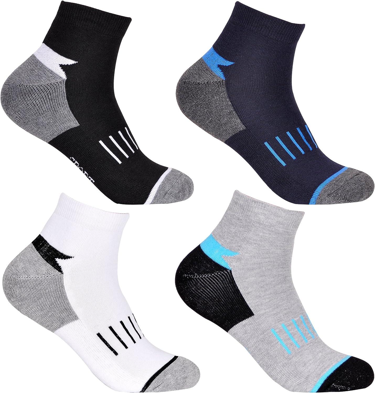L/&K 12//24 Paar Sneaker Socken Damen Herren Kurze Halbsocken F/ü/ßlinge Baumwolle Unisex