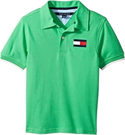 Jimmy Stretch Pique Polo (Toddler/Little Kids)