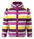 Kozi Kidz Kinder Microfleece Zip-Up Mikrofleece-Jacke für Mädchen mit Reißver
