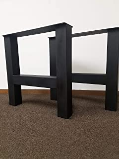 Metal Table Legs, H-Frame Style - Any Size and Color