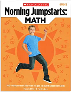 Morning Jumpstarts: Math, Grade 6: 100 Independent Practice Pages to Build Essential Skills