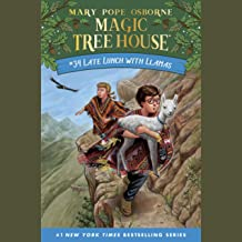 Late Lunch with Llamas: Magic Tree House (R), Book 34