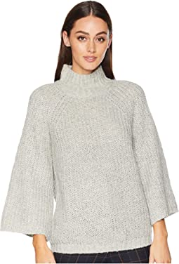 Acrylic Blend Long Sleeve Sweater