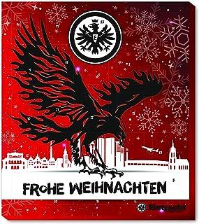 Eintracht Frankfurt Adventskalender, Weihnachtskalender mit Vereinsposter und Sticker Wir Leben Fußball  FAIRTRADE