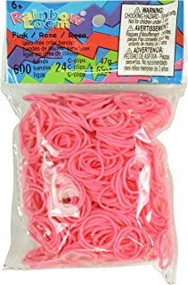 Rainbow Loom Solid Bands, Pink