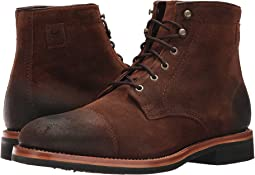 Brown Waxed Suede