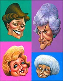 O'keefe Prints A Tribute to The Golden Girls Poster 11
