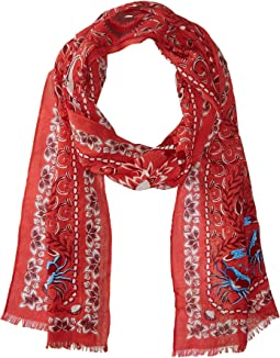 Echo Design Sea Life Cotton Scarf