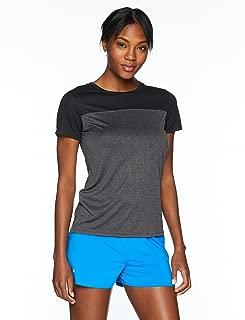 Starter Women's Short Sleeve TRAINING-TECH Running T-Shirt with Ventilation, Amazon Exclusive