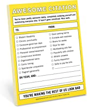 Knock Knock Awesome Citation Nifty Note Pad