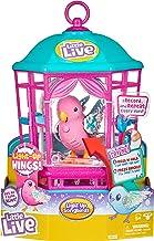 پرنده حیوانات خانگی کوچک زنده با اسباب بازی های کودکانه Glow-Rainbow Glow