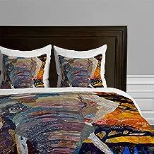 Deny Designs  Elizabeth St Hilaire Nelson Elephant Duvet Cover, King