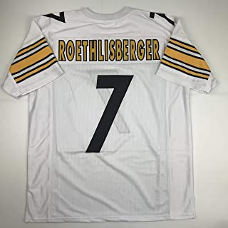 Unsigned Ben Roethlisberger Pittsburgh White Custom Stitched Football Jersey Size Men's XL New No Brands/Logos