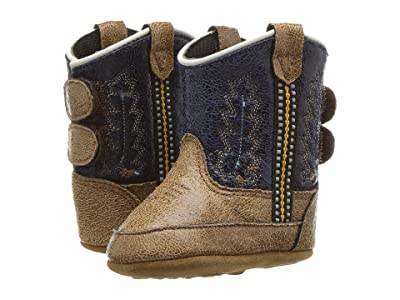 Old West Kids Boots Poppets (Infant/Toddler) (Tan Canyon) Cowboy Boots