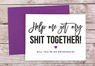 Finally an Excuse to Day Drink Card Funny Bridesmaid Proposal Funny Bridesmaid Card Will You Be My Bridesmaid Card FPS0057