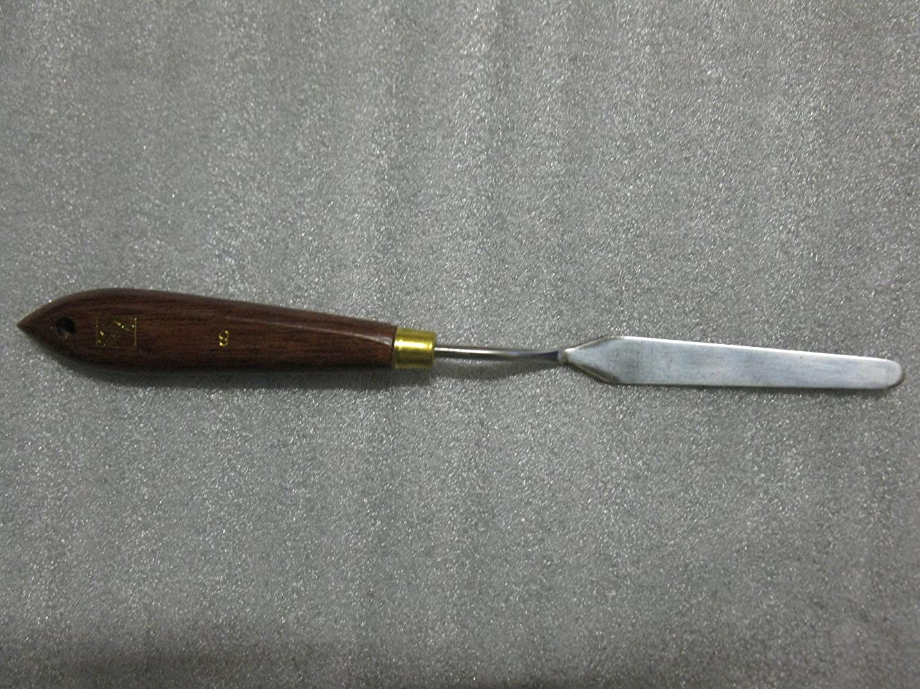 Lefranc & Bourgeois Painting Knife Wood, Steel, Assorted Colors, 2?x 3?x 19?cm
