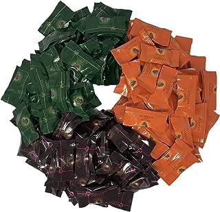 Godiva Chocolatier Masterpiece Chocolates - Gourmet Chocolates - Individually Wrapped- 2 Lbs./100 Count 3 Flavors (Dark Chocolate Ganache Heart, Mint Ganache and Milk Chocolate Caramel Lion)