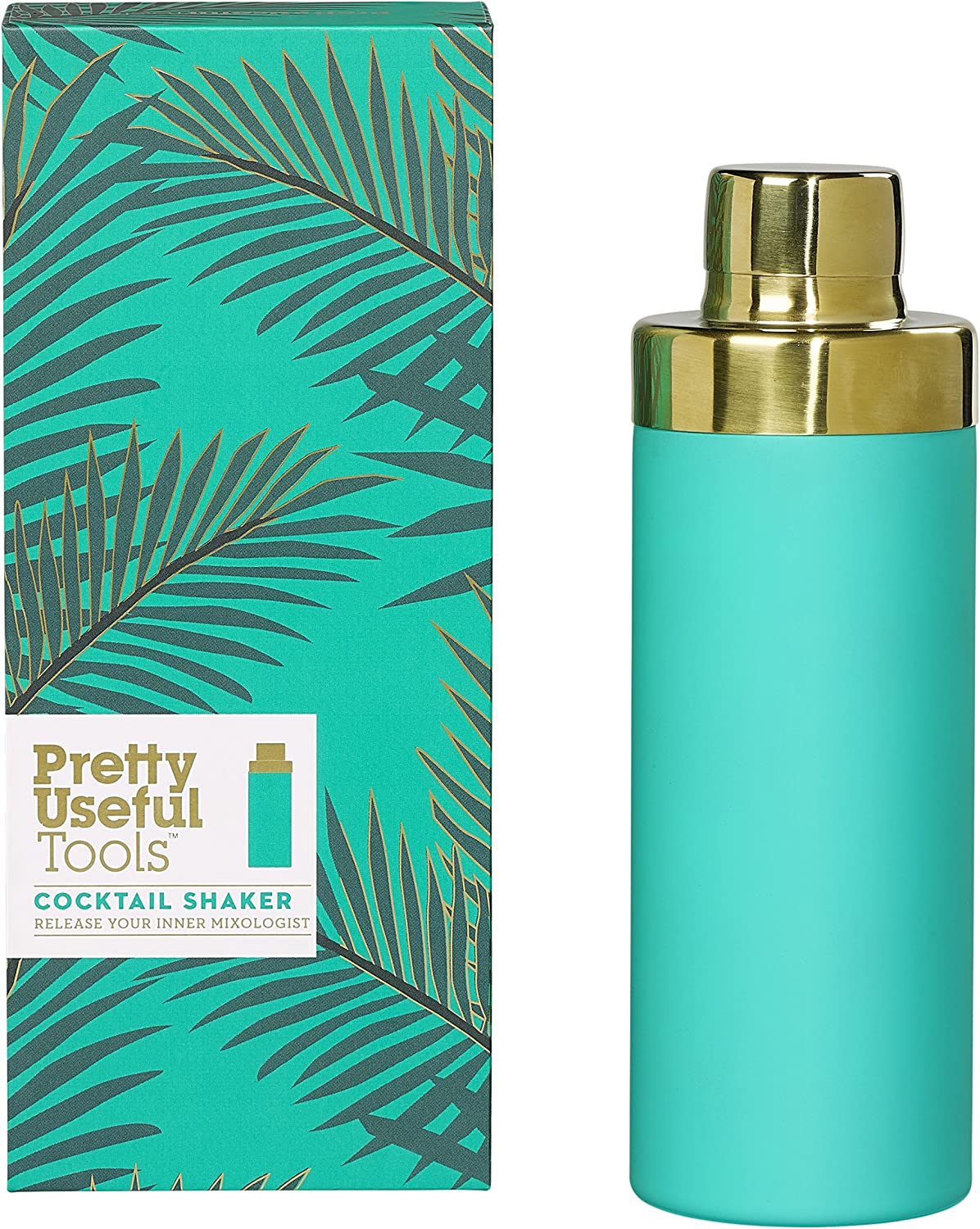 Pretty Useful Tools Tropical Gold Shaker Cocktail free Easy Max 70% OFF 17 Grip