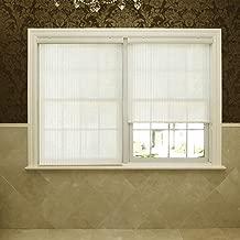 Best Home Fashion Premium Single Roller Window Shade - Cream - 24 1/6