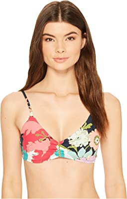 Trina Turk - Royal Botanical OTS Bralette Bikini Top