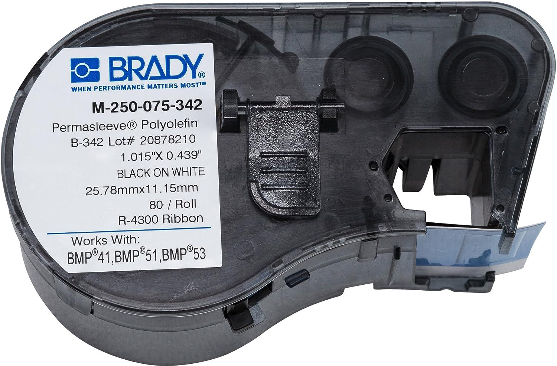 Brady - 131610 M-250-075-342 Labels for BMP53/BMP51 Printers
