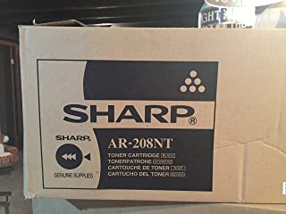 Sharp Sharp Black Toner For Use In Ar208D Ar208S Estimated Yield 8,000 Pages