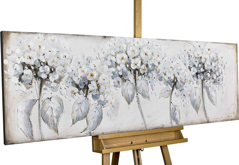 KunstLoft® Acryl Gemälde \'Zart im Wind\' 150x50cm original ...