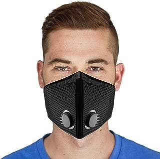 M2 Mesh Air Filtration Mask - Black - X-Large
