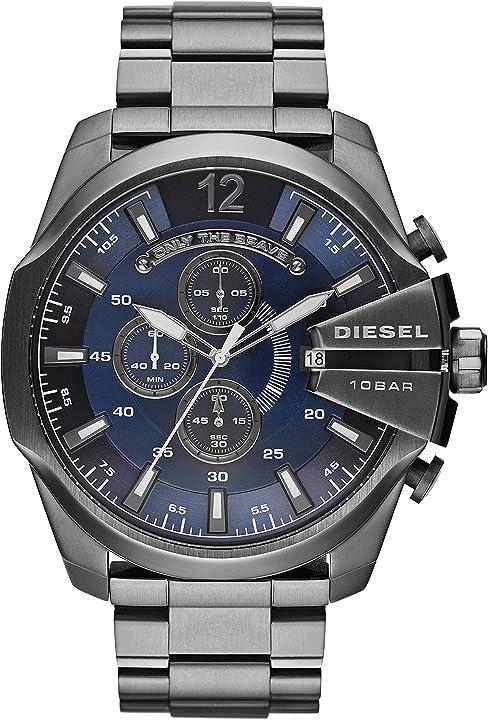 Orologio diesel cronografo quarzo uomo con cinturino in acciaio inossidabile dz4515 DZ4329