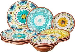 Certified International Vera Cruz Melamine 12 pc Dinnerware Set