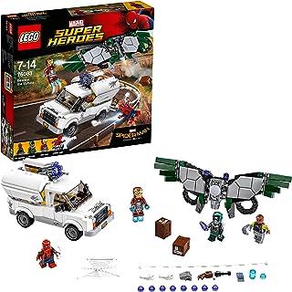 LEGO Super Heroes - Cuidado con Vulture, Juguete de Construcción con MiniFiguras de Iron-Man y Spiderman (76083) , color/modelo surtido
