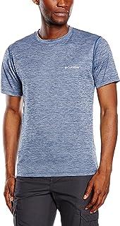Columbia T-Shirt a Maniche Corte da Uomo, Zero Rules Short Sleeve Shirt, Poliestere