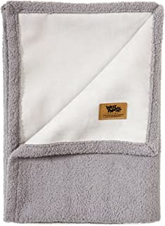 West Paw Big Sky Dog Blanket and Throw, Faux Suede/Silky Soft Fleece Pet Throw Blanket for Couch, Furniture Chair and Bed, Made in USA