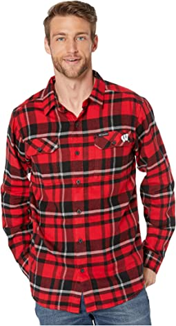 Intense Red Plaid
