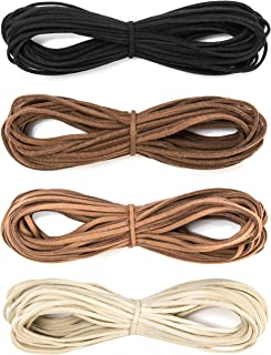 making bracelets with leather cord