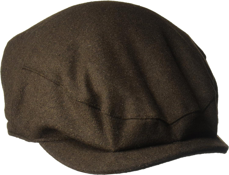 Henschel Under blast 2021 spring and summer new sales Hats Wool Melton Blend Lining Satin Ivy with Hat