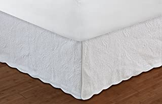Greenland Home 18-Inch Paisley Bed Skirt, King