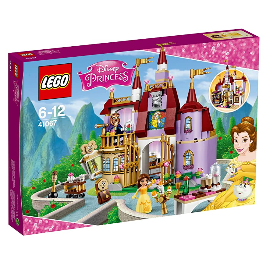 見つけるぐるぐるキャプチャーレゴ (LEGO) ディズニー ベルの魔法のお城 41067