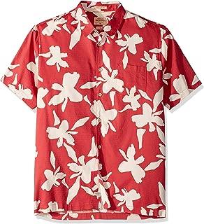 Quiksilver Waterman Men's Waikiki Nights Button Down Shirt