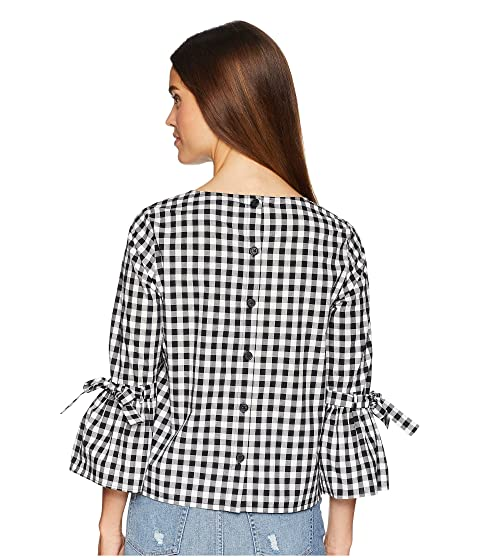 Top All All Dakota Jack Cotton BB Seen Ivory Gingham de qXUO8w6