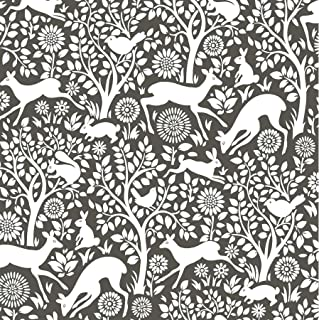 charcoal grey and white wallpaper