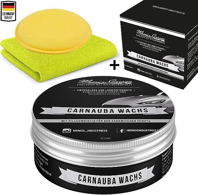 579 opinioni per Momo's Garage ® Carnauba Lucidante + cera con sigillante SiO2 Protettiva High