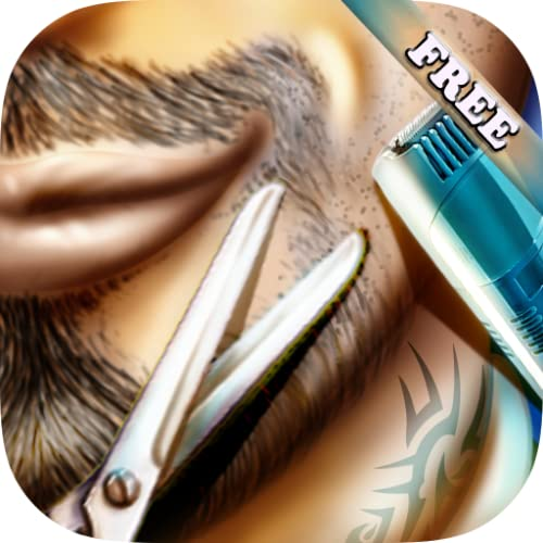 Friseursalon Bart und Schnurrbart - rasieren - Lernspiel für Kinder und Mädchen - KOSTENLOS