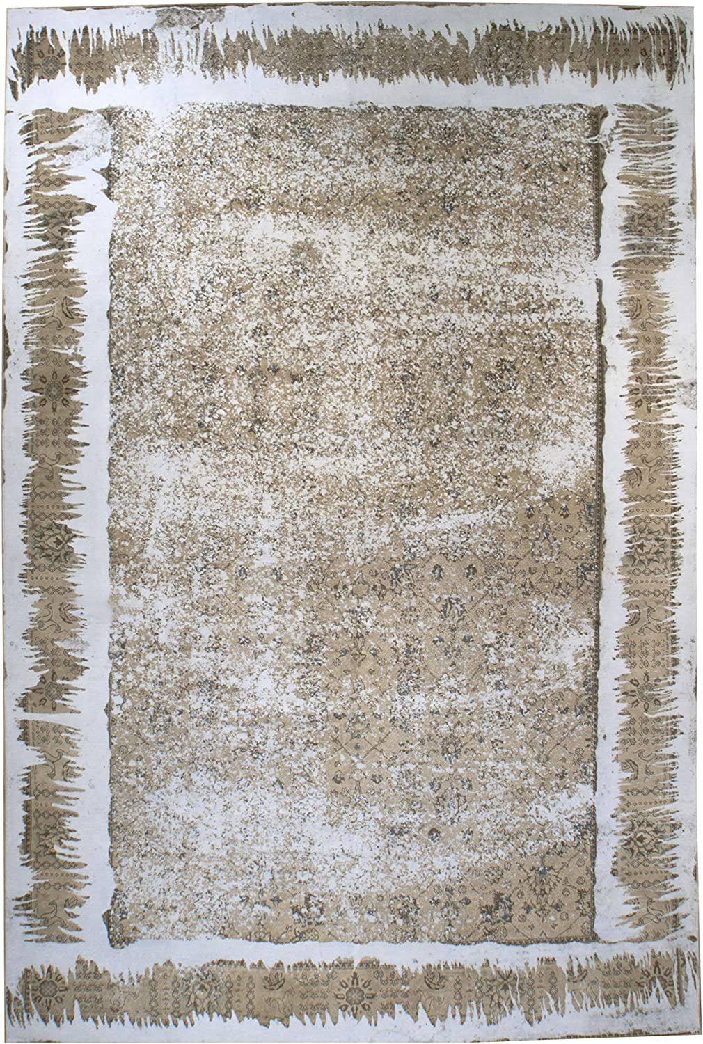 Contemporary Safety and trust Luxury goods Distressed Rug Wool 15' x - 10'
